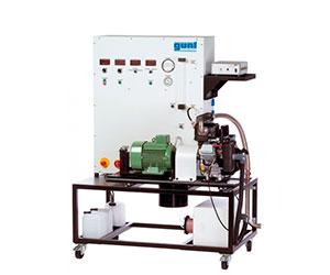 Banco de pruebas para motores de un cilindro