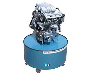 Motor de gasolina estructura de la transmisión