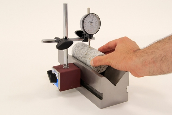 Rock sample verification apparatus