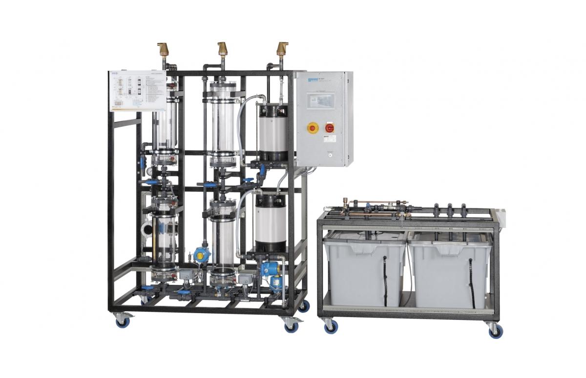 Agua (tratamiento mecánico de aguas, tratamientos biológicos, tratamiento físico/químico de aguas, tratamiento multietapa)