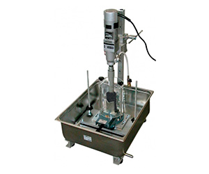 Laboratory coring machine and bits