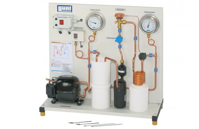 Circuito de refrigeración por compresión sencillo