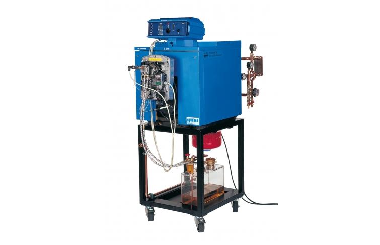 Sistema de demostración caldera de calefacción